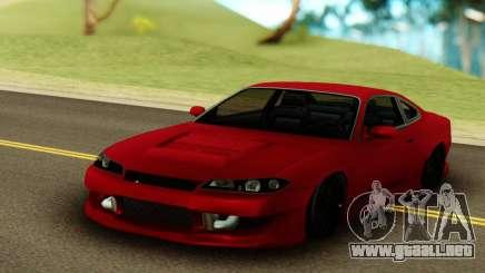 Nissan Silvia S15 Red Stock para GTA San Andreas