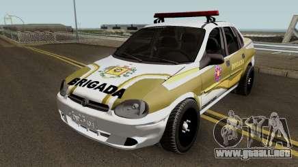 Chevrolet Corsa Brazilian Police para GTA San Andreas