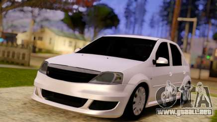 Renault Logan Widebody para GTA San Andreas