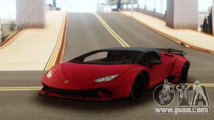 Lamborghini Huracan Supercar para GTA San Andreas