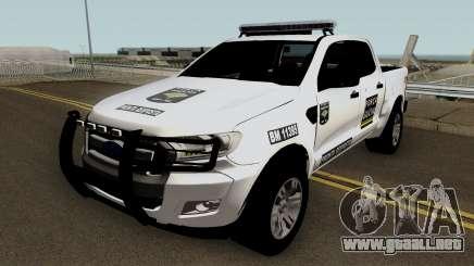 Ford Ranger Brazilian Police (Forca Gaucha) para GTA San Andreas