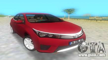 2014 Toyota Corolla para GTA Vice City