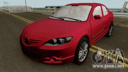 Mazda 3 MQ para GTA San Andreas