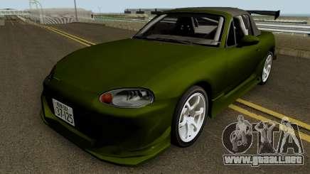 Omiya Satoshi NB8C para GTA San Andreas