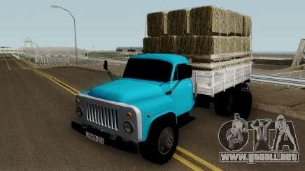 Gaz-52 Truck Azerbajian Straw Bale para GTA San Andreas