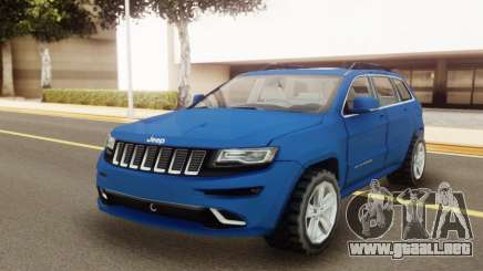 Jeep Grand Cherokee SRT 2014 para GTA San Andreas