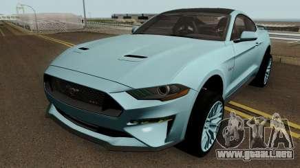 Ford Mustang GT 2018 para GTA San Andreas