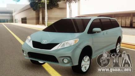 Toyota Sienna para GTA San Andreas