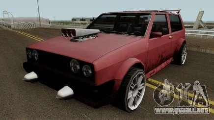 BF Club GTR (SA Style) v1 para GTA San Andreas