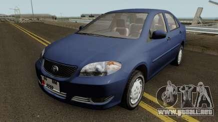 Toyota Corolla Vitz 1.6 para GTA San Andreas