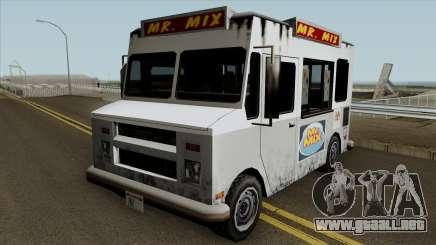 MrWhoop Snack Truck TCGTABR para GTA San Andreas