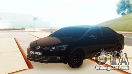 Volkswagen Polo Black para GTA San Andreas