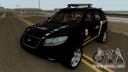 Hyundai Santa Fe Policia Federal para GTA San Andreas