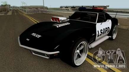 Chevrolet Corvette C3 Stingray Police LSPD V2 para GTA San Andreas