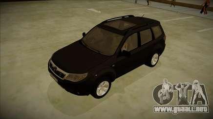 Subaru Forester 2012 V2 para GTA San Andreas