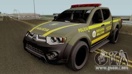 Mitsubishi L200 Brazilian Police (CHOQUE) para GTA San Andreas