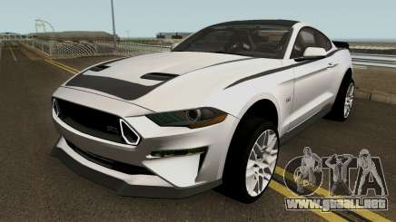 Ford Mustang RTR Spec 3 2018 para GTA San Andreas