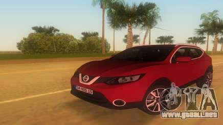 2016 Nissan Qashqai para GTA Vice City