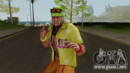 Hulk Hogan (Beach Basher) from WWE Immortals para GTA San Andreas