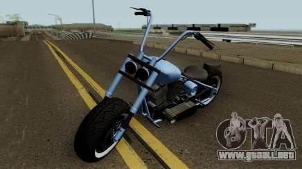 Western Motorcycle Zombie Chopper Con Pain GTA V para GTA San Andreas