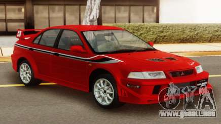 Mitsubishi Lancer Evo VI Tommi Makinen Edition para GTA San Andreas