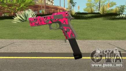 GTA Online Gunrunning Pistol MK.II Pink Skull para GTA San Andreas