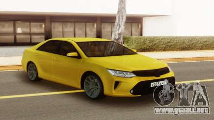 Toyota Camry Yellow para GTA San Andreas