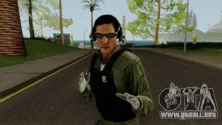 Skin BAV - Tripulante para GTA San Andreas