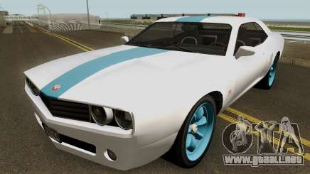 Dodge Challenger SRT Normal (Gauntlet) 2012 para GTA San Andreas