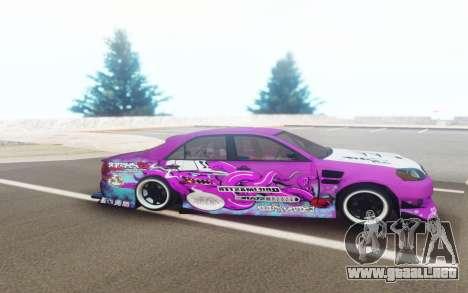 Toyota Mark 2 JZX110 Octo DriftMaster para GTA San Andreas