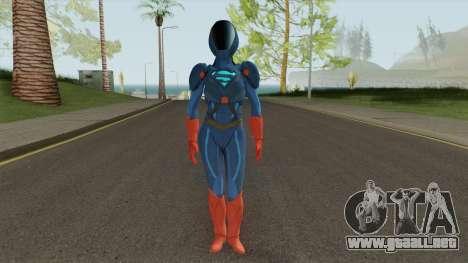 Skin CWs Armored Supergirl from Injustice 2 para GTA San Andreas