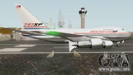 Boeing 747SP para GTA San Andreas