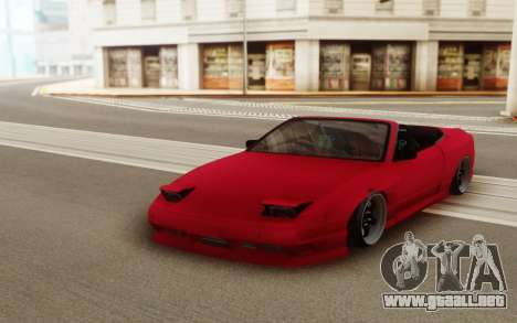 Nissan Silvia S15 Varietta Facelift 240SX para GTA San Andreas