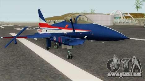 Chengdu J-10 ADT para GTA San Andreas