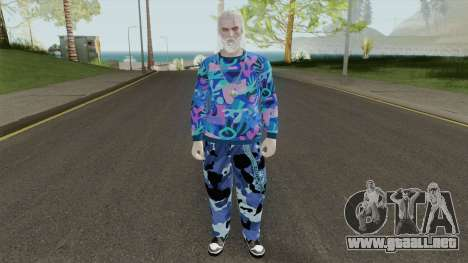 The Thug Witcher para GTA San Andreas