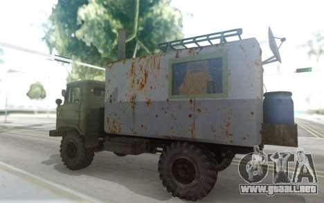 GAZ 66 Mini casa rodante para GTA San Andreas