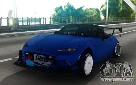 Mazda MX-5 Miata Cyberpunk para GTA San Andreas