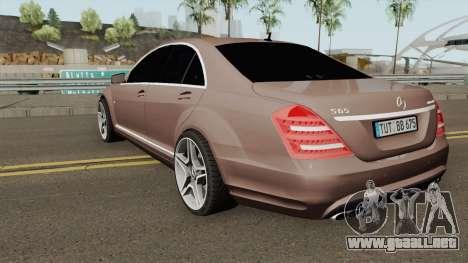 Mercedes-Benz W221 para GTA San Andreas