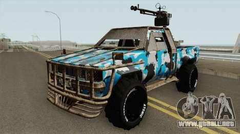 Technical Gunrunning GTA V para GTA San Andreas