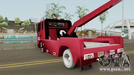 Chevrolet NPR GRUA para GTA San Andreas