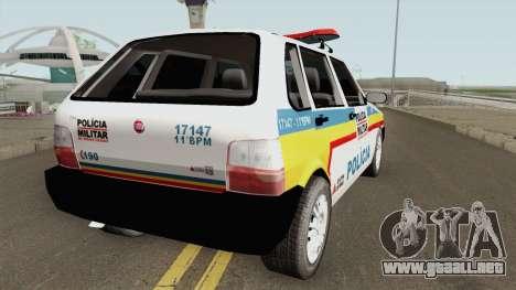 Fiat Uno Mille Multifuncional PMMG para GTA San Andreas