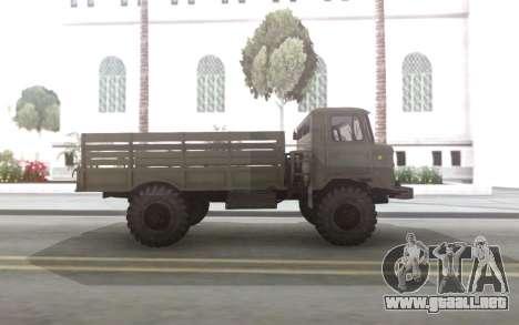 GAZ 66, con un cuerpo y Tende para GTA San Andreas