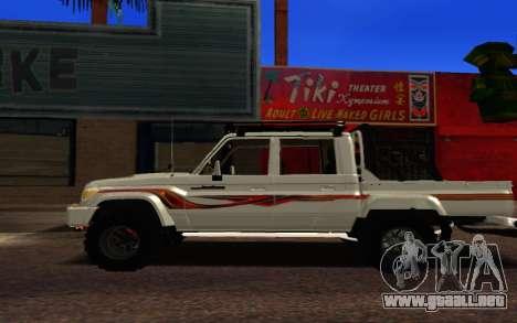 Land Cruiser 79 Pick Up V1.0 para GTA San Andreas