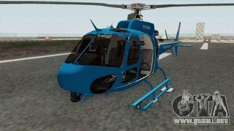 Helicoptero Fenix 02 do GAM PMERJ para GTA San Andreas