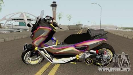 Yamaha NMax Lowrider para GTA San Andreas