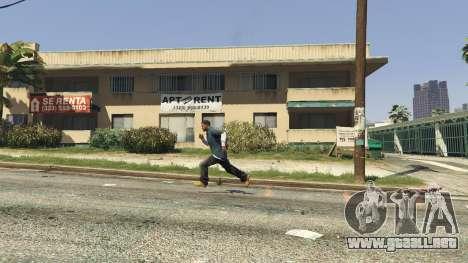 GTA 5 Flaming Footprints 1.0