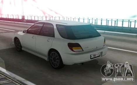 Subaru Impreza WRX Wagon para GTA San Andreas