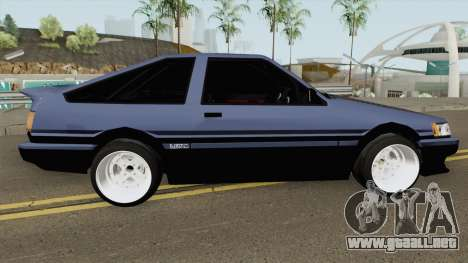 Toyota Levin AE86 Turbo V1 para GTA San Andreas