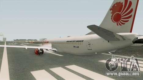 Boeing 737NG Lion Air para GTA San Andreas