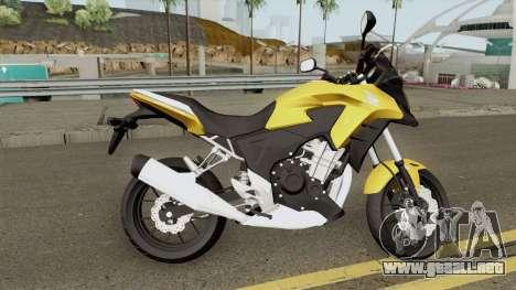 Honda CB500X 2015 para GTA San Andreas